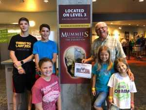James attended Arizona Science Center on Aug 17th 2019 via VetTix