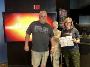 Hollee attended Arizona Science Center on Aug 17th 2019 via VetTix