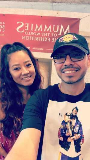 jesse attended Arizona Science Center on Aug 17th 2019 via VetTix