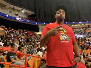 MAURICE attended Big3 - Men's Professional Basketball on Aug 10th 2019 via VetTix