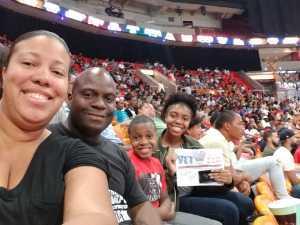 Angela attended Big3 - Men's Professional Basketball on Aug 10th 2019 via VetTix