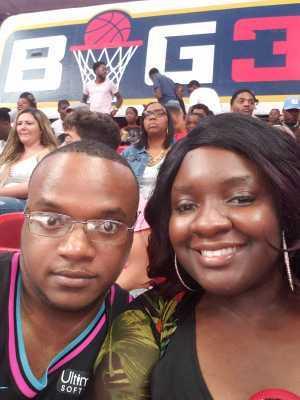 Raymond attended Big3 - Men's Professional Basketball on Aug 10th 2019 via VetTix