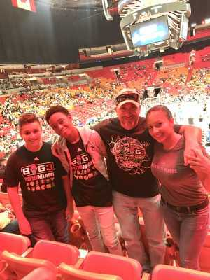 Paola attended Big3 - Men's Professional Basketball on Aug 10th 2019 via VetTix