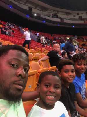 rachel attended Big3 - Men's Professional Basketball on Aug 10th 2019 via VetTix