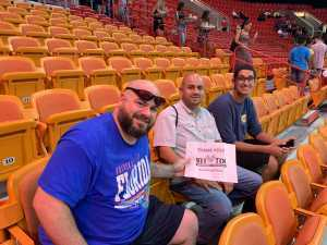 Mark attended Big3 - Men's Professional Basketball on Aug 10th 2019 via VetTix