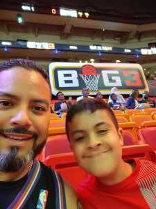 Luis attended Big3 - Men's Professional Basketball on Aug 10th 2019 via VetTix