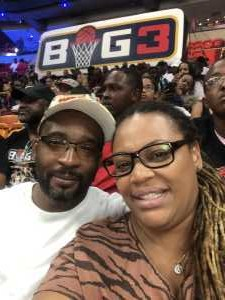 Avril attended Big3 - Men's Professional Basketball on Aug 10th 2019 via VetTix