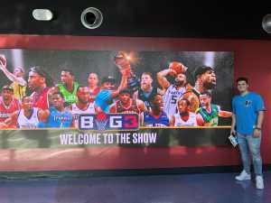 BETH attended Big3 - Men's Professional Basketball on Aug 10th 2019 via VetTix