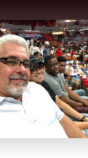 Ariel attended Big3 - Men's Professional Basketball on Aug 10th 2019 via VetTix