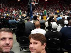 Dan attended Big3 - Men's Professional Basketball on Aug 10th 2019 via VetTix
