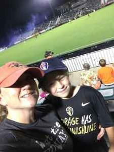 Annmarie attended North Carolina FC vs. Ottawa Fury - USL on Sep 28th 2019 via VetTix