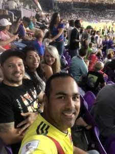 Edwin attended MLS All Stars V Atletico Madrid - MLS on Jul 31st 2019 via VetTix