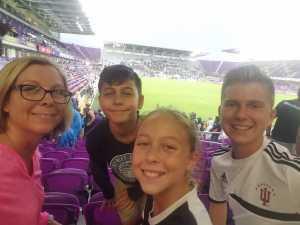 elizabeth attended MLS All Stars V Atletico Madrid - MLS on Jul 31st 2019 via VetTix