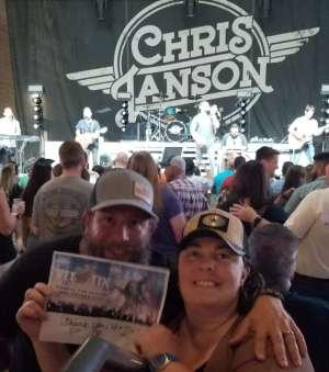 Scott & Pamala attended Miller Lite Hot Country Nights: Chris Janson on Oct 5th 2019 via VetTix