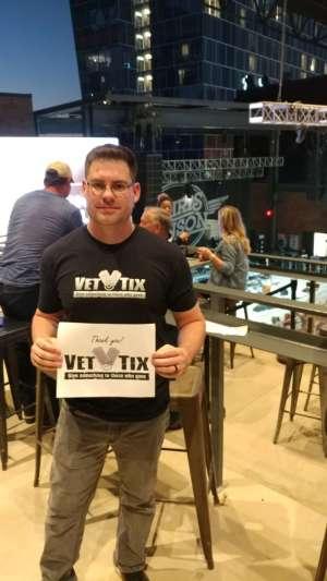 Averyahm attended Miller Lite Hot Country Nights: Chris Janson on Oct 5th 2019 via VetTix
