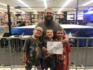 Terrence Cooper attended Future Of Honor - Live Professional Wrestling - Presented by Presented by Maryland Championship Wrestling on Aug 16th 2019 via VetTix