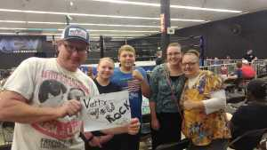 James attended Future Of Honor - Live Professional Wrestling - Presented by Presented by Maryland Championship Wrestling on Aug 16th 2019 via VetTix