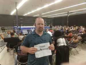 Barry attended Future Of Honor - Live Professional Wrestling - Presented by Presented by Maryland Championship Wrestling on Aug 16th 2019 via VetTix