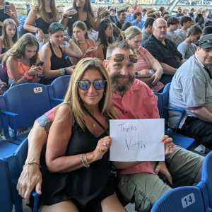 Christian attended Train/goo Goo Dolls - Pop on Aug 1st 2019 via VetTix