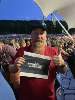 Matthew attended Train/goo Goo Dolls - Pop on Aug 1st 2019 via VetTix