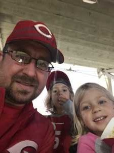 Quinn attended Cincinnati Reds vs. Pittsburgh Pirates - MLB on Jul 30th 2019 via VetTix