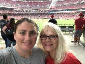 Christina attended Cincinnati Reds vs. Pittsburgh Pirates - MLB on Jul 30th 2019 via VetTix