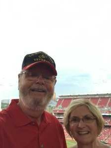 James attended Cincinnati Reds vs. Pittsburgh Pirates - MLB on Jul 30th 2019 via VetTix