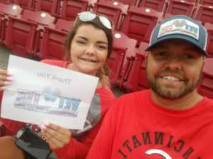Adam attended Cincinnati Reds vs. Pittsburgh Pirates - MLB on Jul 30th 2019 via VetTix