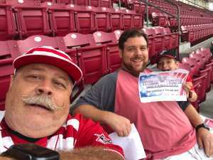 David attended Cincinnati Reds vs. Pittsburgh Pirates - MLB on Jul 30th 2019 via VetTix