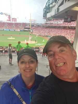 Kevin attended Cincinnati Reds vs. Pittsburgh Pirates - MLB on Jul 30th 2019 via VetTix