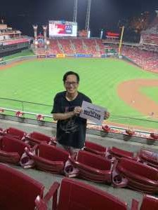 William attended Cincinnati Reds vs. Pittsburgh Pirates - MLB on Jul 30th 2019 via VetTix