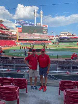 Scott attended Cincinnati Reds vs. St. Louis Cardinals - MLB on Aug 18th 2019 via VetTix