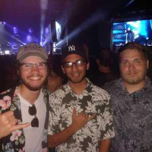 Nicholas attended The Smashing Pumpkins & Noel Gallagher's High Flying Birds - Alternative Rock on Aug 24th 2019 via VetTix