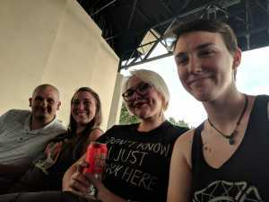 wesley attended The Smashing Pumpkins & Noel Gallagher's High Flying Birds - Alternative Rock on Aug 24th 2019 via VetTix