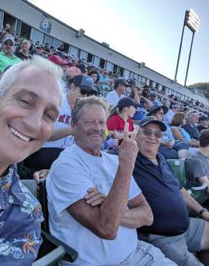 Stephen attended Portland Seadogs vs. Reading Fightin Phils - MiLB on Aug 20th 2019 via VetTix