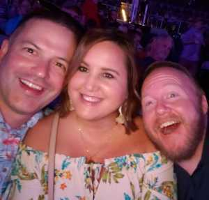 Charles attended SiriusXM Jamon Presents: Moe. And Blues Traveler With G. Love on Aug 10th 2019 via VetTix