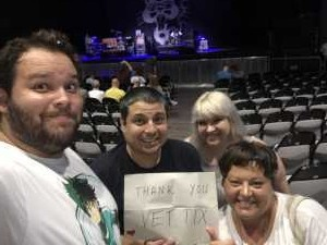 marcus attended SiriusXM Jamon Presents: Moe. And Blues Traveler With G. Love on Aug 10th 2019 via VetTix