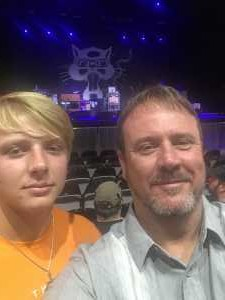 Daniel attended SiriusXM Jamon Presents: Moe. And Blues Traveler With G. Love on Aug 10th 2019 via VetTix