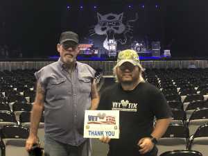 Seung attended SiriusXM Jamon Presents: Moe. And Blues Traveler With G. Love on Aug 10th 2019 via VetTix