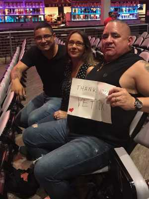 robert attended SiriusXM Jamon Presents: Moe. And Blues Traveler With G. Love on Aug 10th 2019 via VetTix