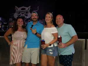 Thomas attended SiriusXM Jamon Presents: Moe. And Blues Traveler With G. Love on Aug 10th 2019 via VetTix
