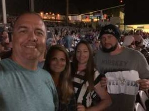 David attended SiriusXM Jamon Presents: Moe. And Blues Traveler With G. Love on Aug 10th 2019 via VetTix