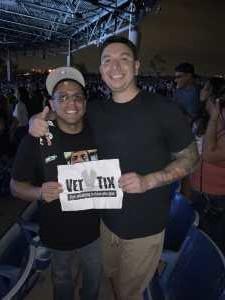 Brandon attended Blink-182 & Lil Wayne - Pop on Aug 5th 2019 via VetTix