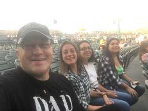 Franciszek attended Rascal Flatts: Summer Playlist Tour 2019 - Country on Aug 2nd 2019 via VetTix