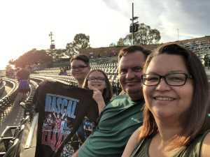 Glenn attended Rascal Flatts: Summer Playlist Tour 2019 - Country on Aug 2nd 2019 via VetTix