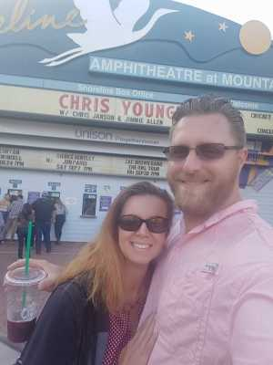 Austin attended Chris Young: Raised on Country Tour - Country on Aug 8th 2019 via VetTix