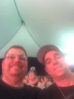 Erik attended Alice Cooper & Halestorm on Aug 1st 2019 via VetTix
