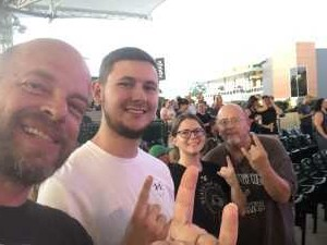 Joseph attended Alice Cooper & Halestorm on Aug 1st 2019 via VetTix