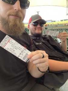 Joshua attended Alice Cooper & Halestorm on Aug 1st 2019 via VetTix