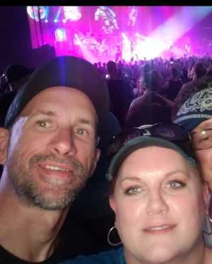 ANGELA attended Alice Cooper & Halestorm on Aug 1st 2019 via VetTix